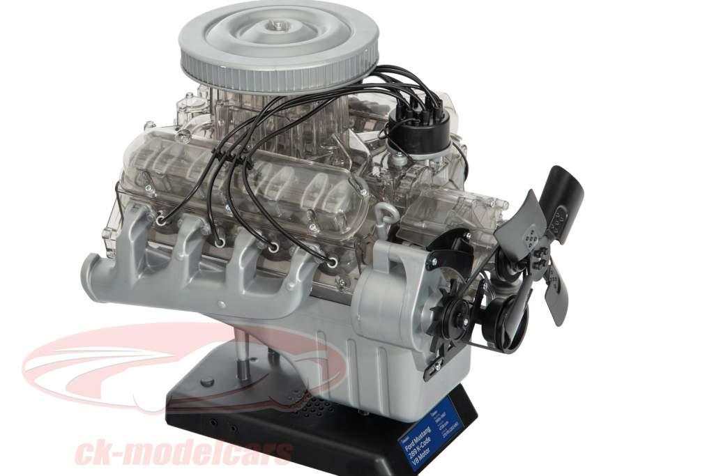 Ford Mustang moteur V8 année de construction 1965 trousse 1:3 Franzis