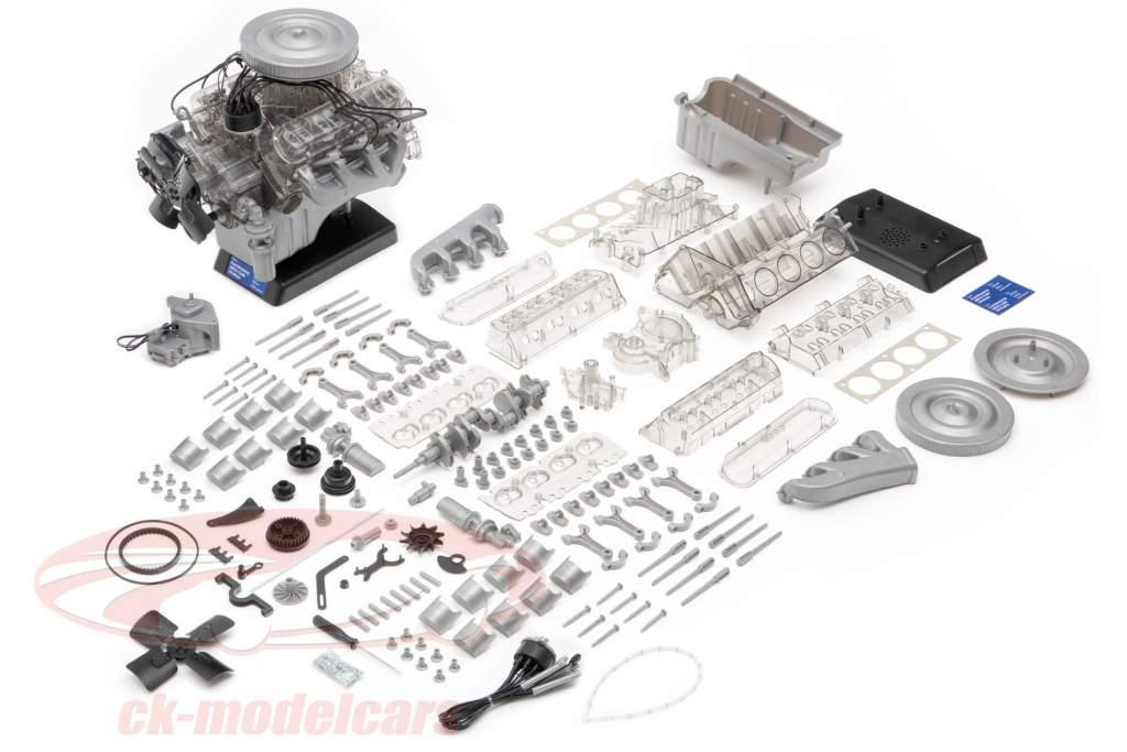 Ford Mustang V8-motor Bouwjaar 1965 uitrusting 1:3 Franzis