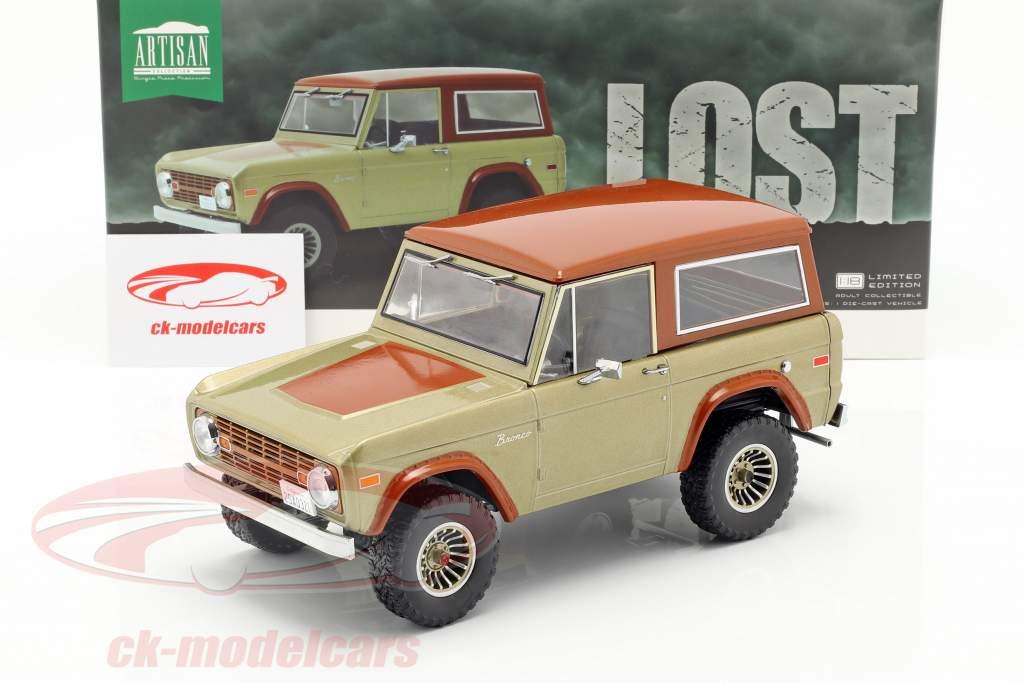 Ford Bronco Bouwjaar 1970 tv-serie Lost (2004-2010) bruin 1:18 Greenlight
