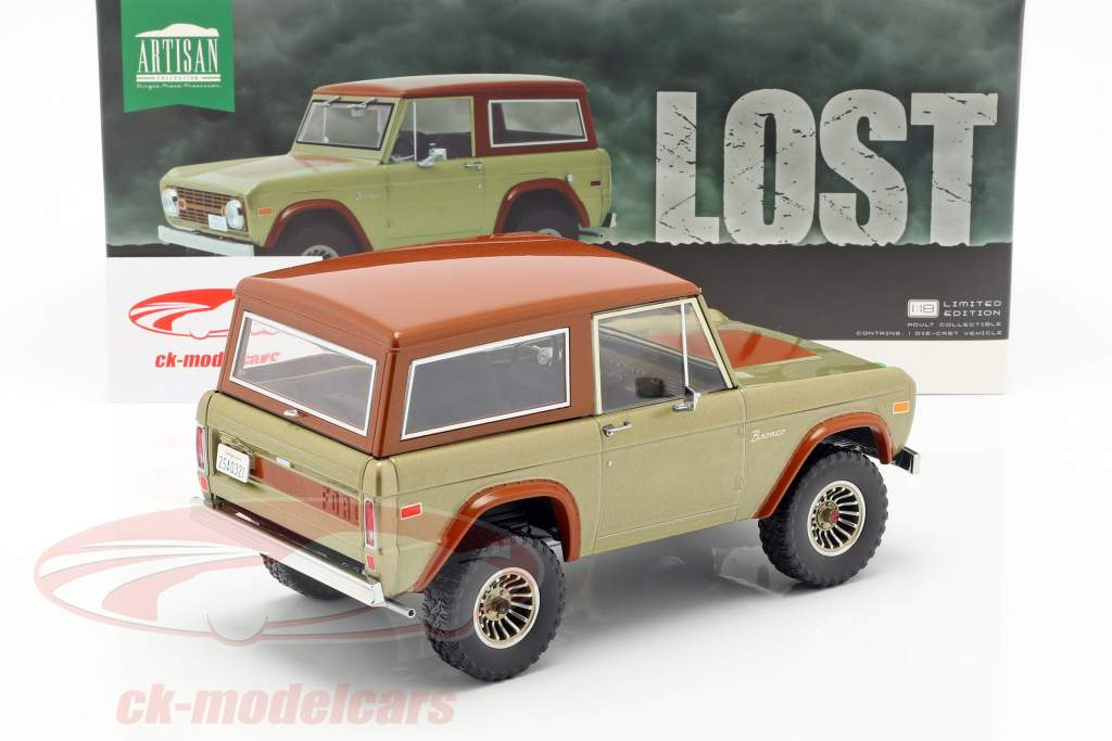 Ford Bronco year 1970 TV series Lost (2004-2010) brown 1:18 Greenlight
