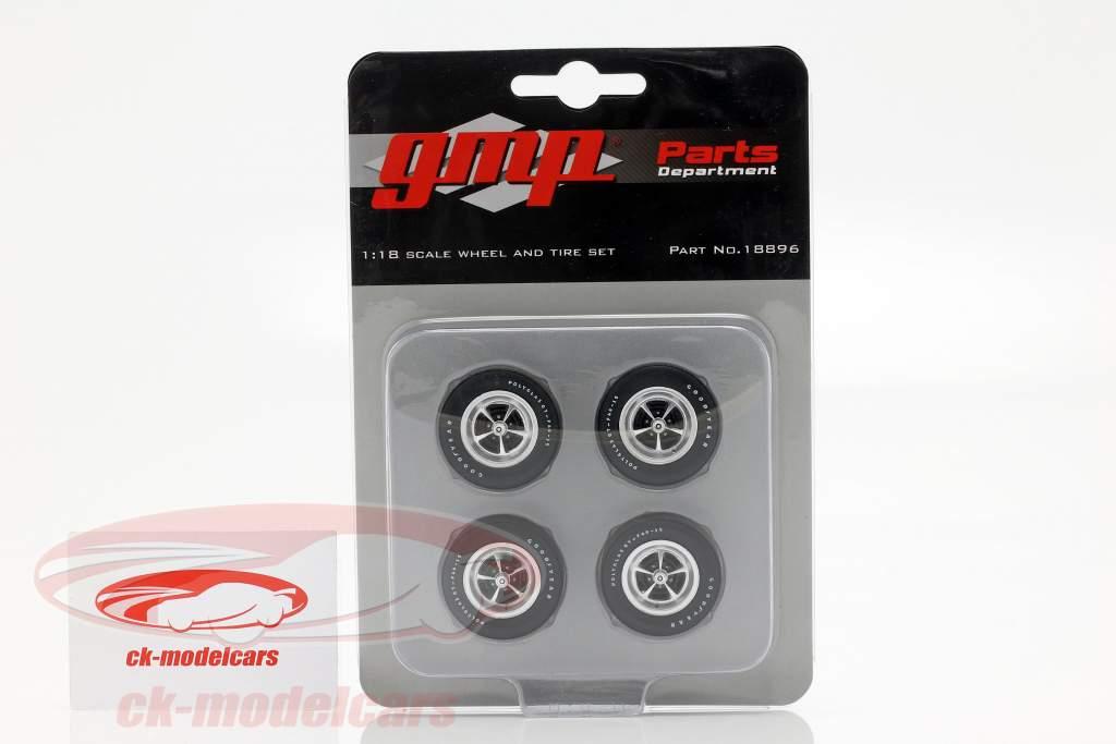 Plymouth Wheel and Tire Set (GMP 18895) 1:18 GMP
