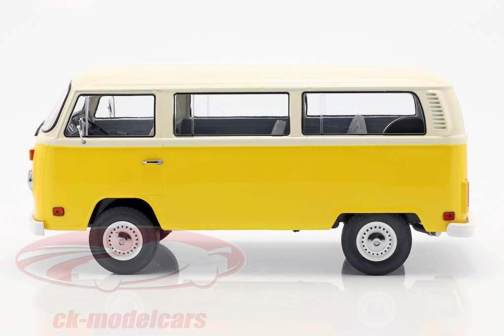 Volkswagen VW T2 Bus 1978 film Little Miss Sunshine (2006) geel 1:18 Greenlight