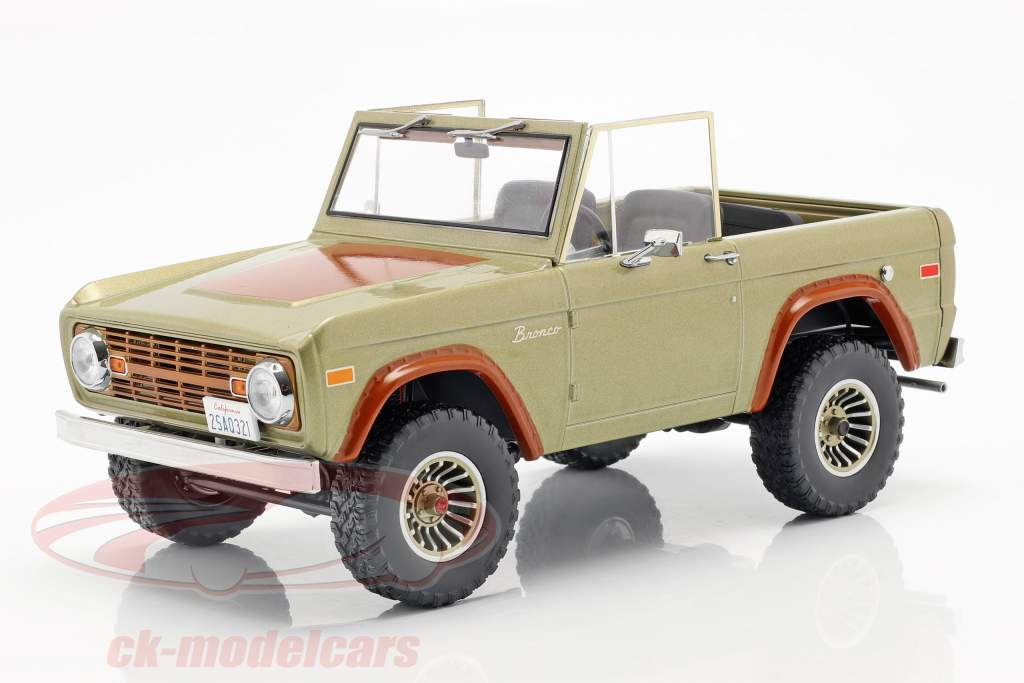 Ford Bronco anno di costruzione 1970 serie TV Lost (2004-2010) marrone 1:18 Greenlight