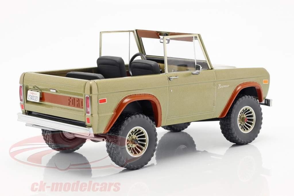 Ford Bronco Baujahr 1970 TV-Serie Lost (2004-2010) braun 1:18 Greenlight