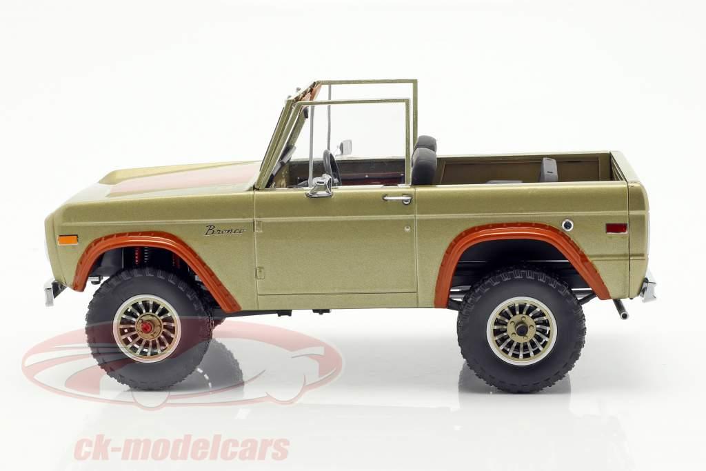 Ford Bronco année de construction 1970 Série TV Lost (2004-2010) brun 1:18 Greenlight