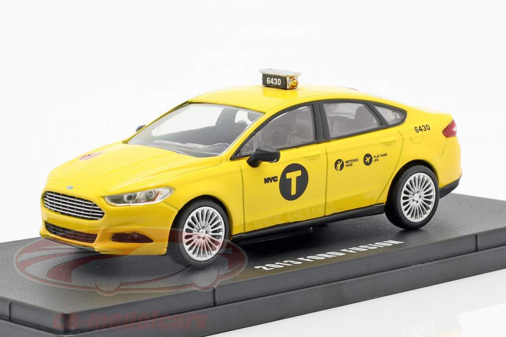 Ford Fusion NYC Taxi année de construction 2013 jaune 1:43 Greenlight