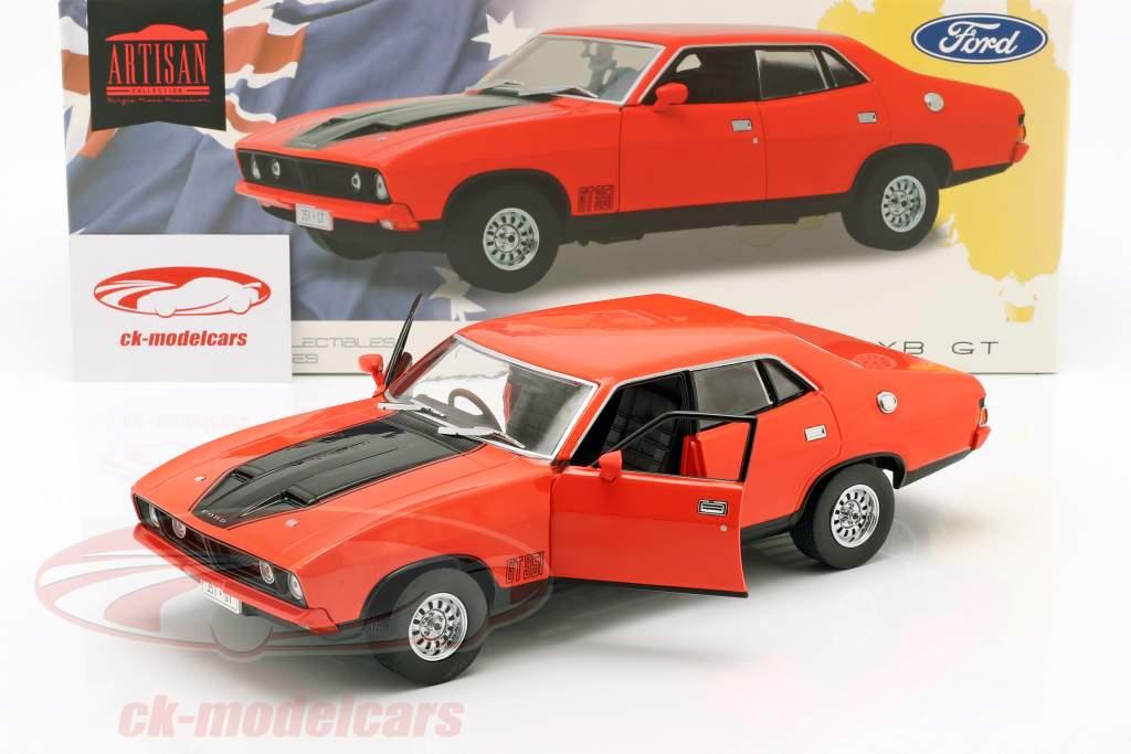 Ford Falcon XB GT351 year 1974 red / black 1:18 Greenlight