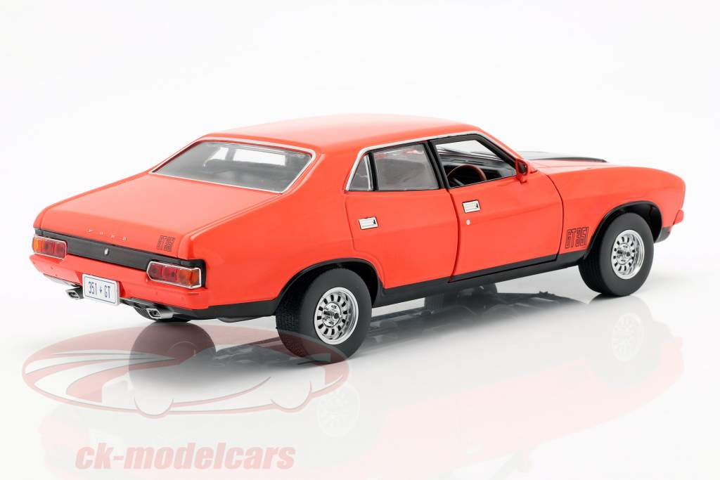 Ford Falcon XB GT351 année de construction 1974 rouge / noir 1:18 Greenlight