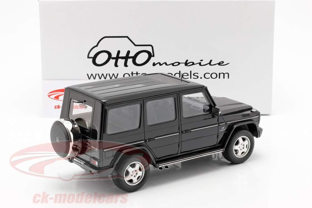 Mercedes-Benz G-classe 55 AMG ano de construção 2003 obsidian preto 1:18 OttOmobile