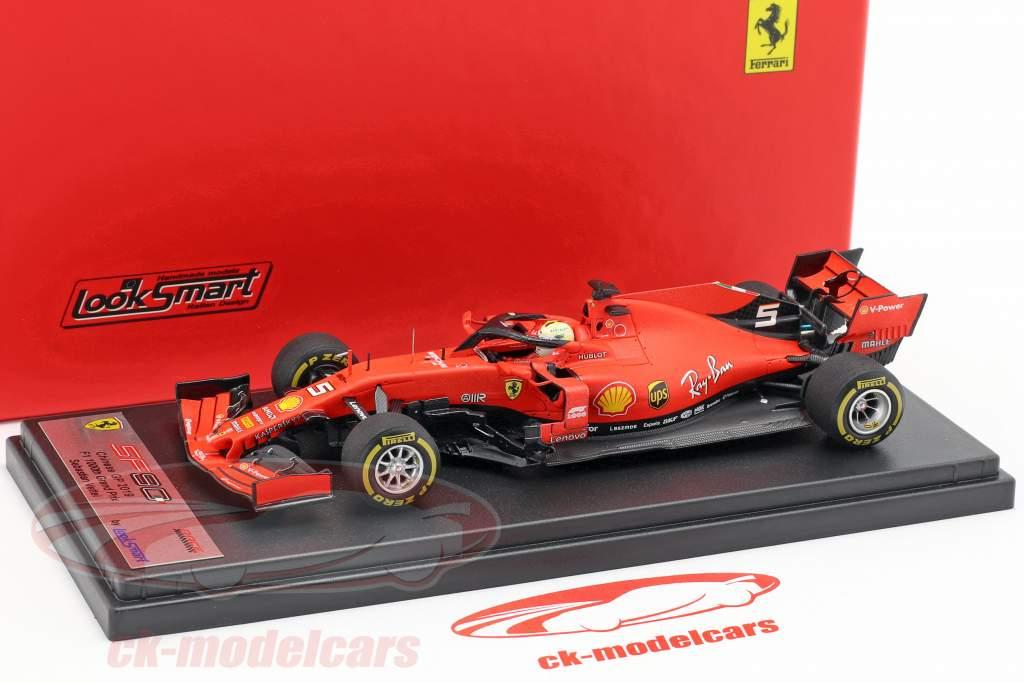 Looksmart 1:43 F1 GP Charles Leclerc Ferrari SF90 F1 5° GP China 2019 1000