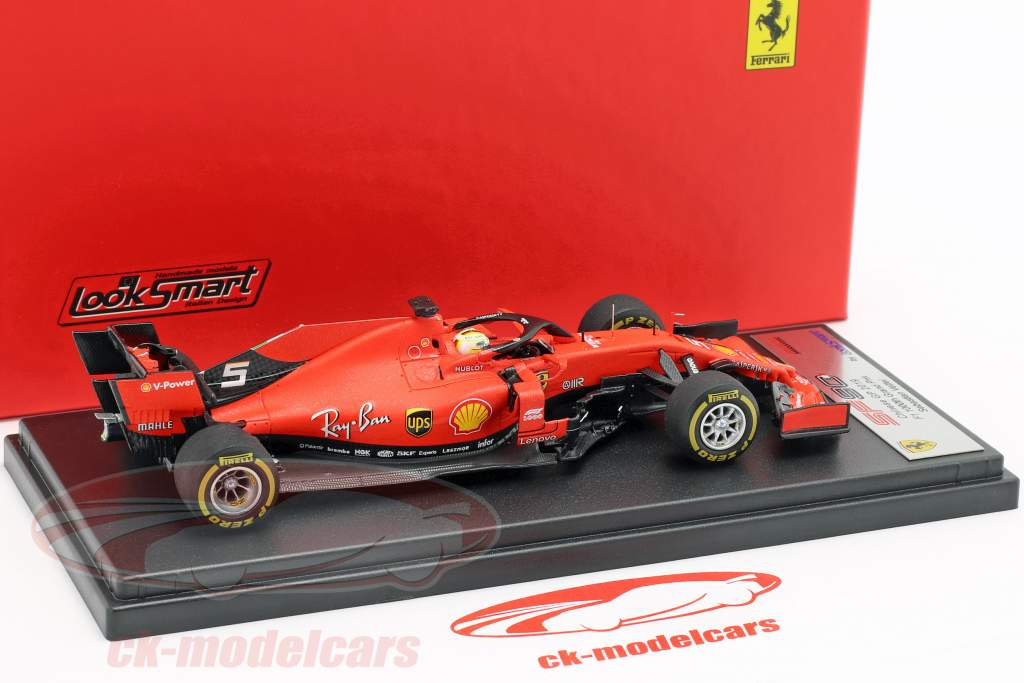 Sebastian Vettel Ferrari SF90 #5 3rd China GP Formel 1 2019 1:43 LookSmart