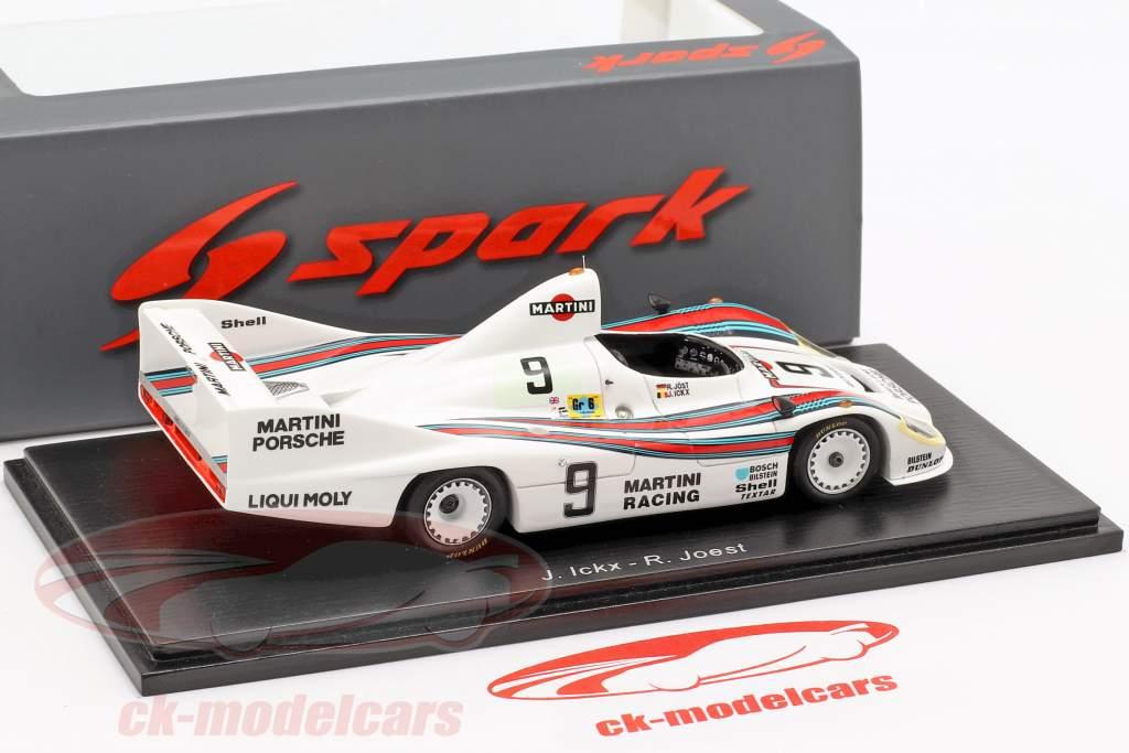 Porsche 908/80 #9 2 24h LeMans 1980 Ickx, Joest 1:43 Spark
