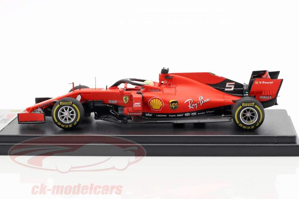 Sebastian Vettel Ferrari SF90 #5 tercero chino GP fórmula 1 2019 1:43 LookSmart