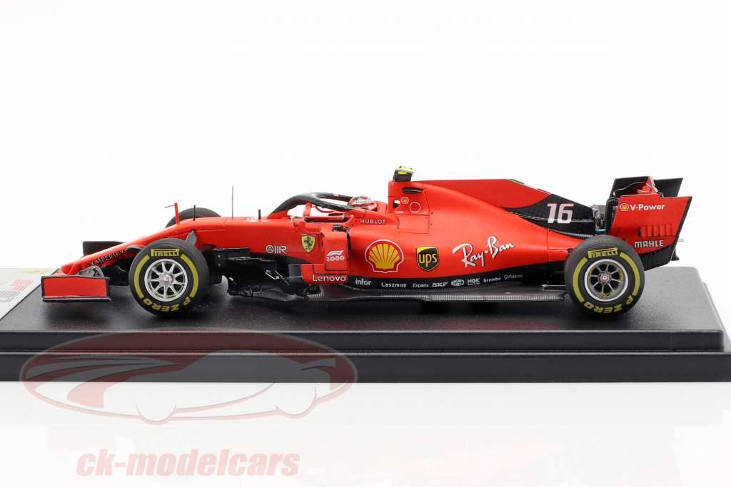 Charles Leclerc Ferrari SF90 #16 5e Chinese GP formule 1 2019 1:43 LookSmart