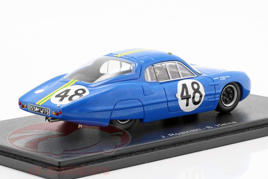 Alpine M63 #48 24h LeMans 1963 Rosinski, Heins 1:43 Spark