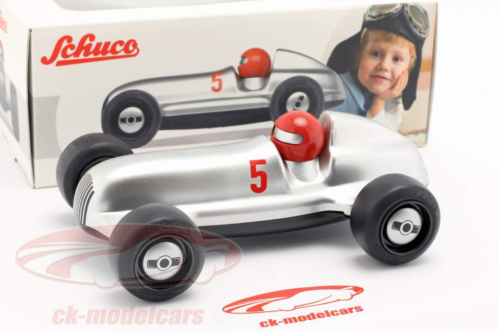 Studio Racer Silver-Max #5 argent / noir Schuco