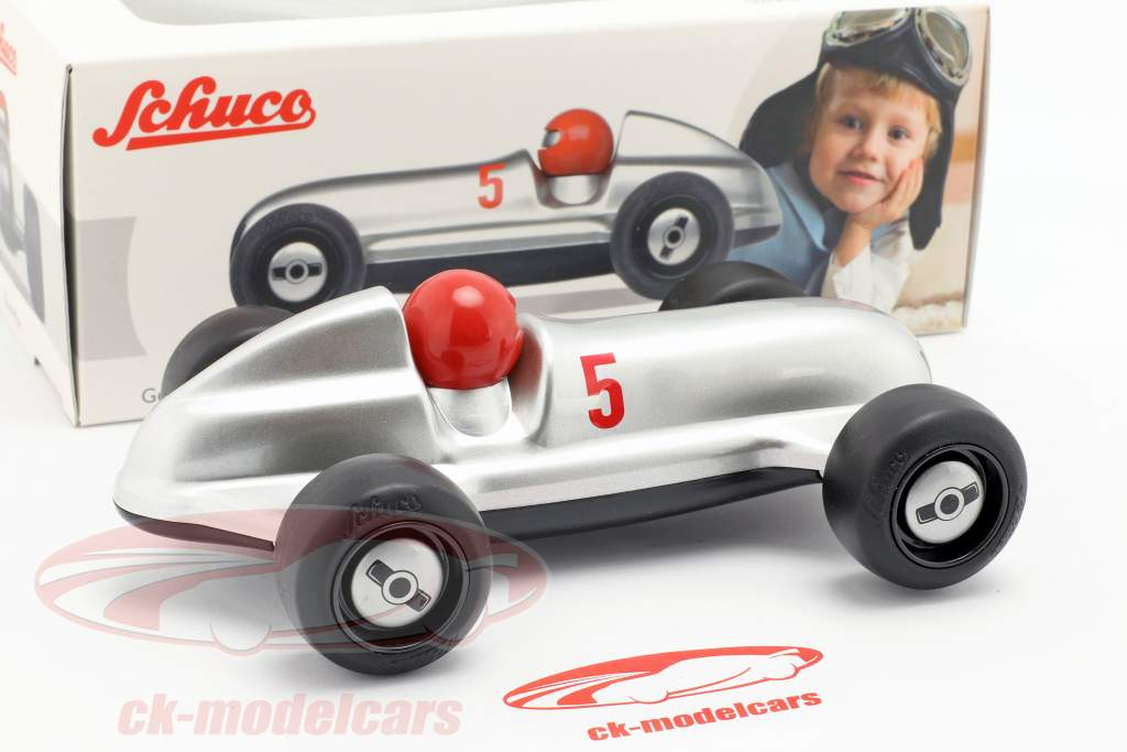 Studio Racer Silver-Max #5 zilver / zwart Schuco