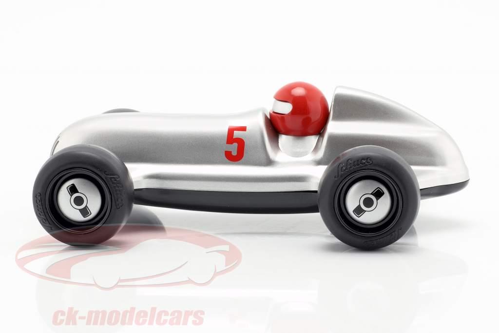 Studio Racer Silver-Max #5 sølv / sort Schuco