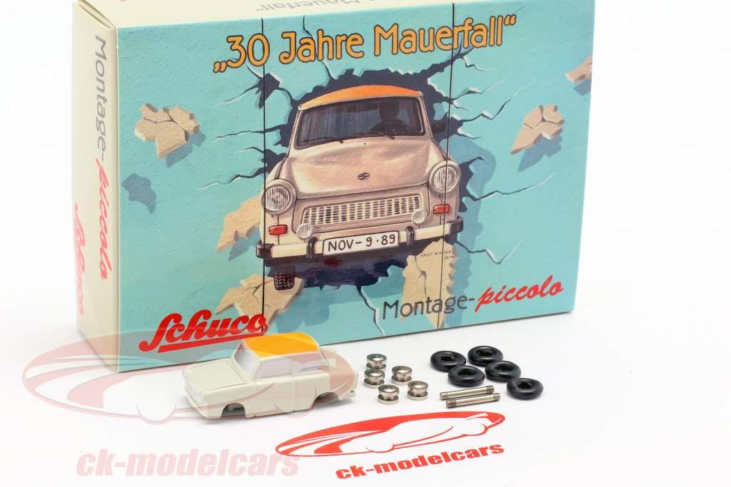 Trabant 601 Montagekasten 30 Jahre Mauerfall 1:90 Schuco Piccolo