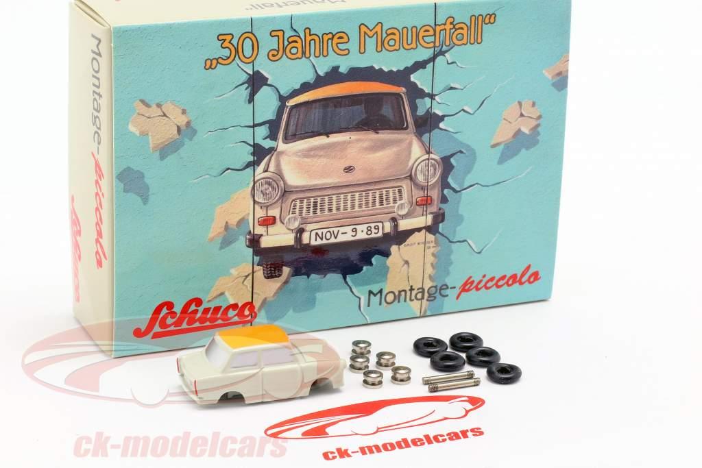 Trabant 601 cas de montage 30 ans chute du mur 1:90 Schuco Piccolo