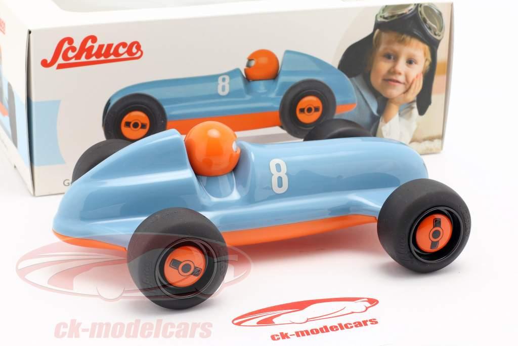 Studio Racer Blue-Pierre #8 bleu / orange Schuco