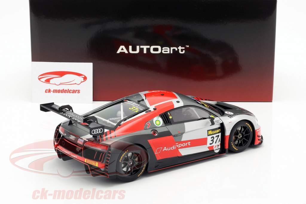 Audi R8 LMS #37A gagnant 12h Bathurst 2018 Frijns, Leonard, Vanthoor 1:18 AUTOart