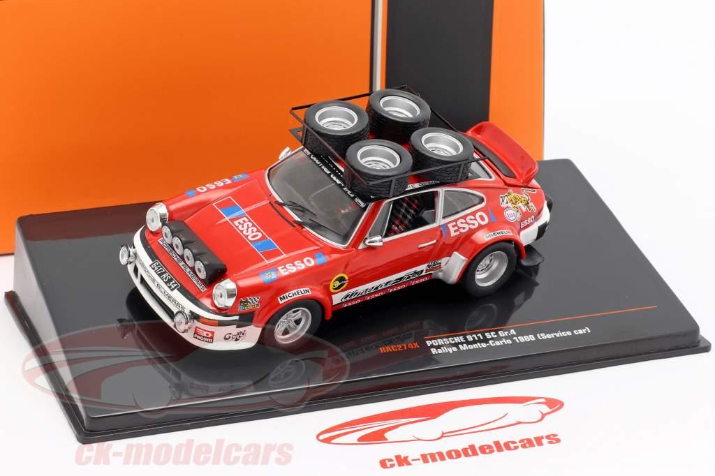 Porsche 911 SC Gr.4 Service Car Rallye Monte Carlo 1980 1:43 Ixo