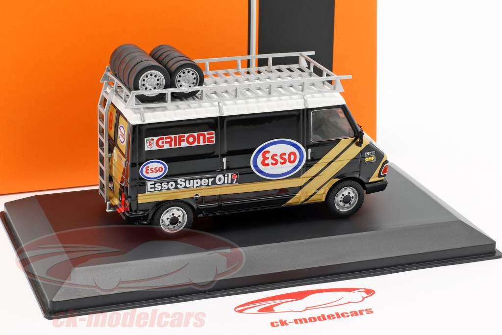 Fiat 242 furgone Rallye Assistance Esso Grifone 1986 1:43 Ixo