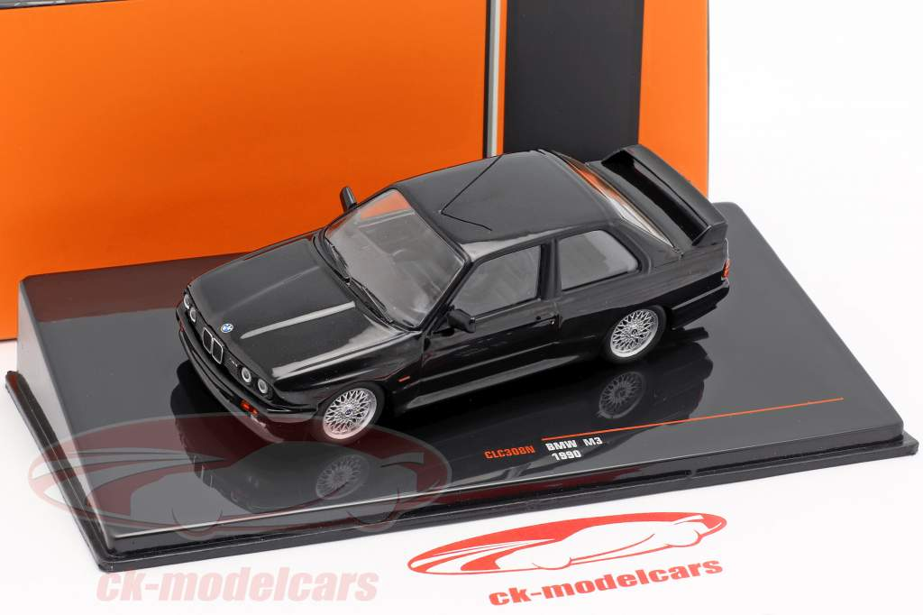 BMW M3 (E30) Sport Evolution year 1990 black 1:43 Ixo