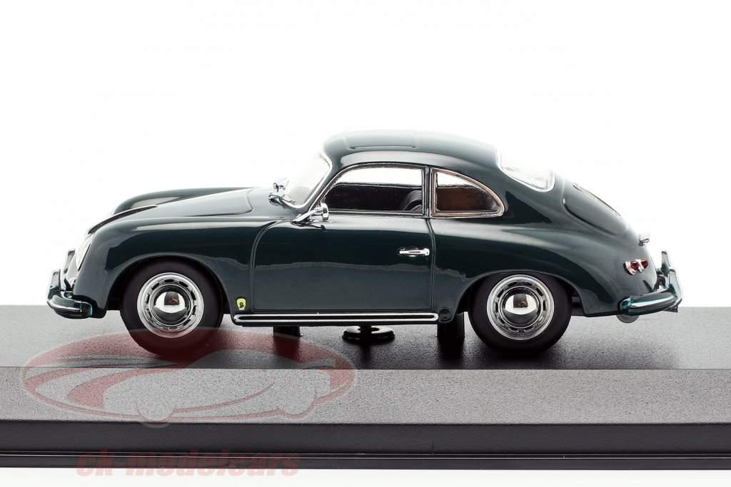 Porsche 356 A coupe Bouwjaar 1959 donkergroen 1:43 Minichamps