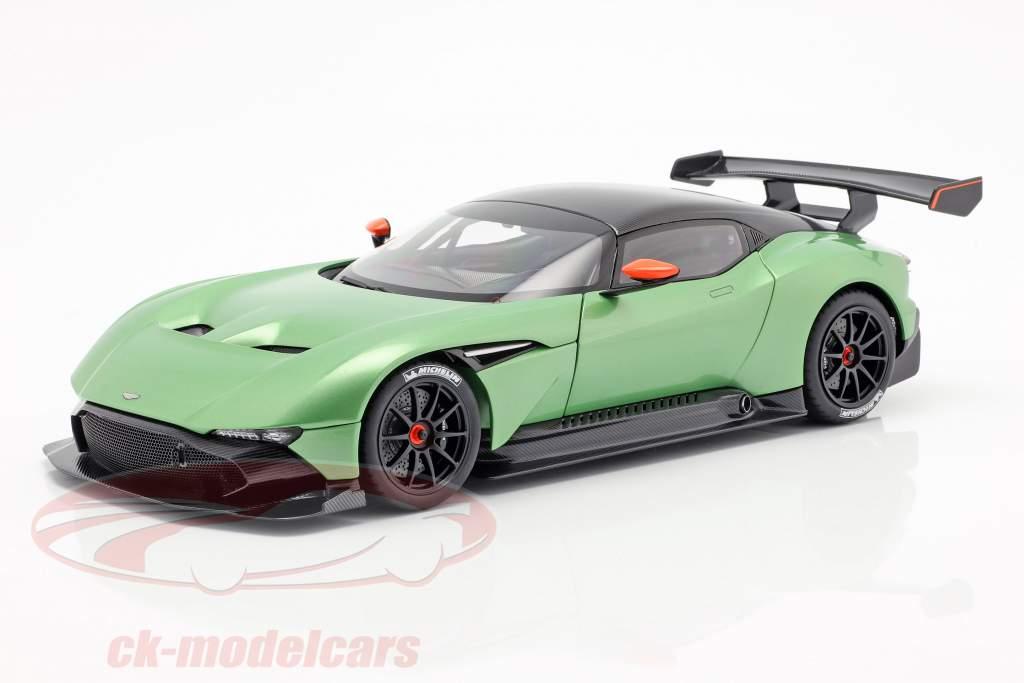 Aston Martin Vulcan Baujahr 2015 apfelgrün metallic 1:18 AUTOart
