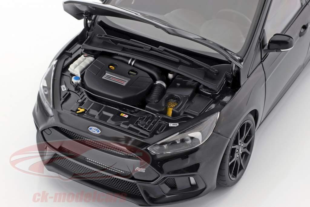 Ford Focus RS Opførselsår 2016 skygge sort 1:18 AUTOart