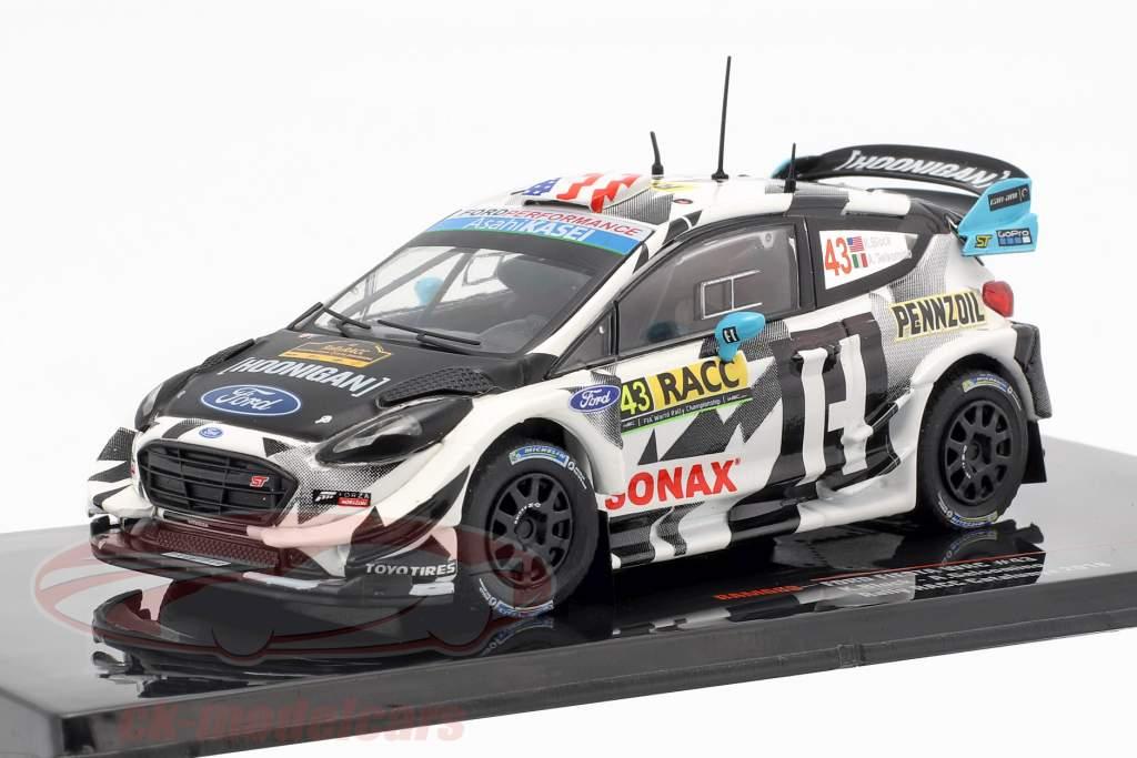 Ford Fiesta WRC #43 Rallye Catalunya 2018 Block, Gelsomino 1:43 Ixo
