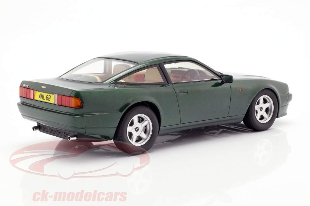 Aston Martin Vantage Opførselsår 1988 mørkegrøn metallisk 1:18 Cult Scale