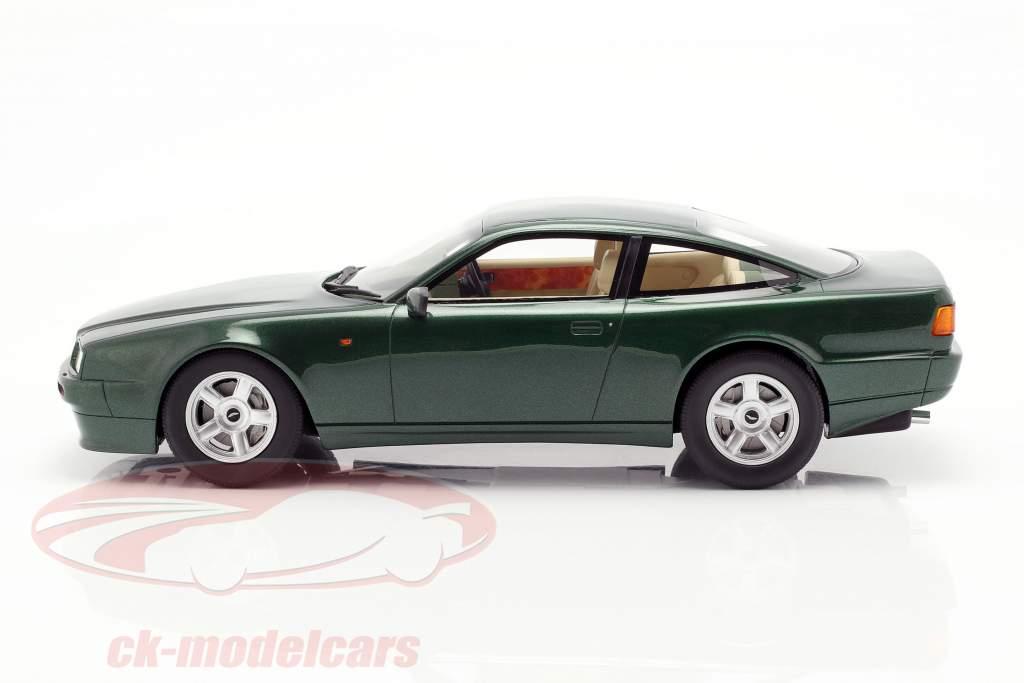 Aston Martin Vantage year 1988 dark green metallic 1:18 Cult Scale