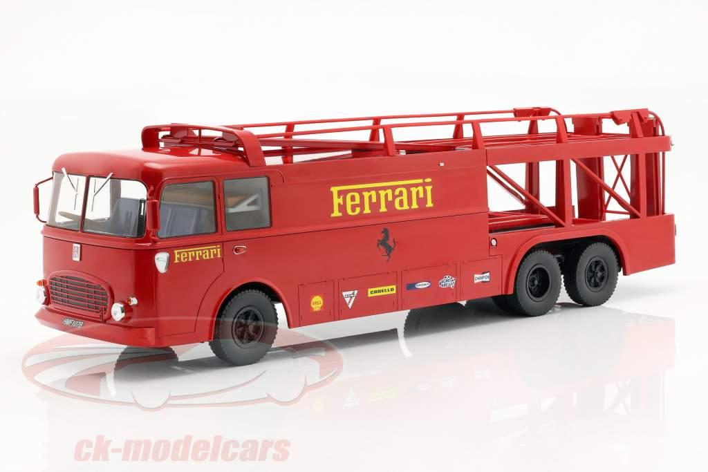 Fiat Bartoletti Truck 306/2 Ferrari Movie LeMans 1:18 Norev
