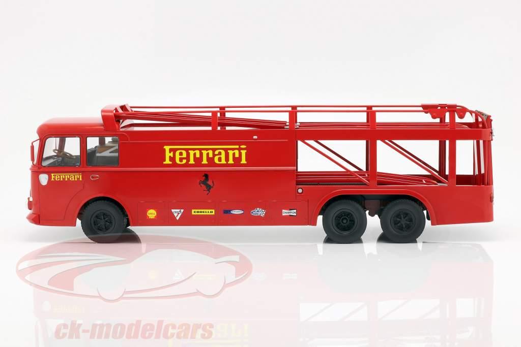 Fiat Bartoletti Renntransporter 306/2 Ferrari Film LeMans 1:18 Norev