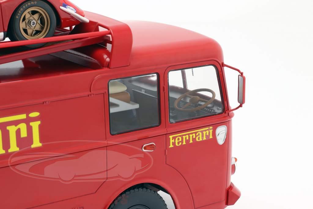 Fiat Bartoletti camión 306/2 Ferrari película LeMans 1:18 Norev
