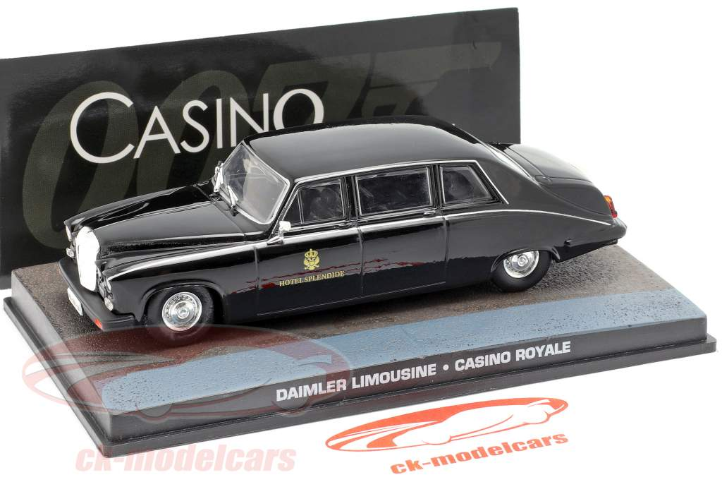 Daimler Limousine James Bond Movie Car Casino Royale 1:43 Ixo