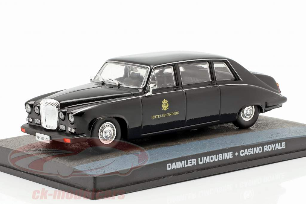 Daimler Limousine Voiture James Bond, Casino Royale 1:43 Ixo