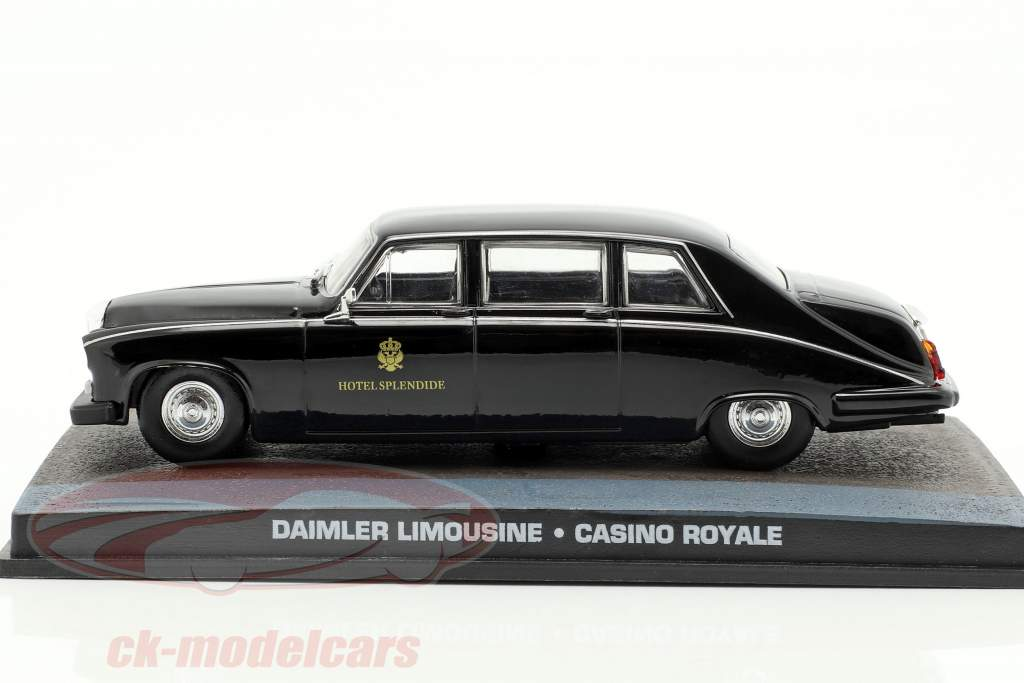 Daimler Limousine Car James Bond movie Casino Royale 1:43 Ixo