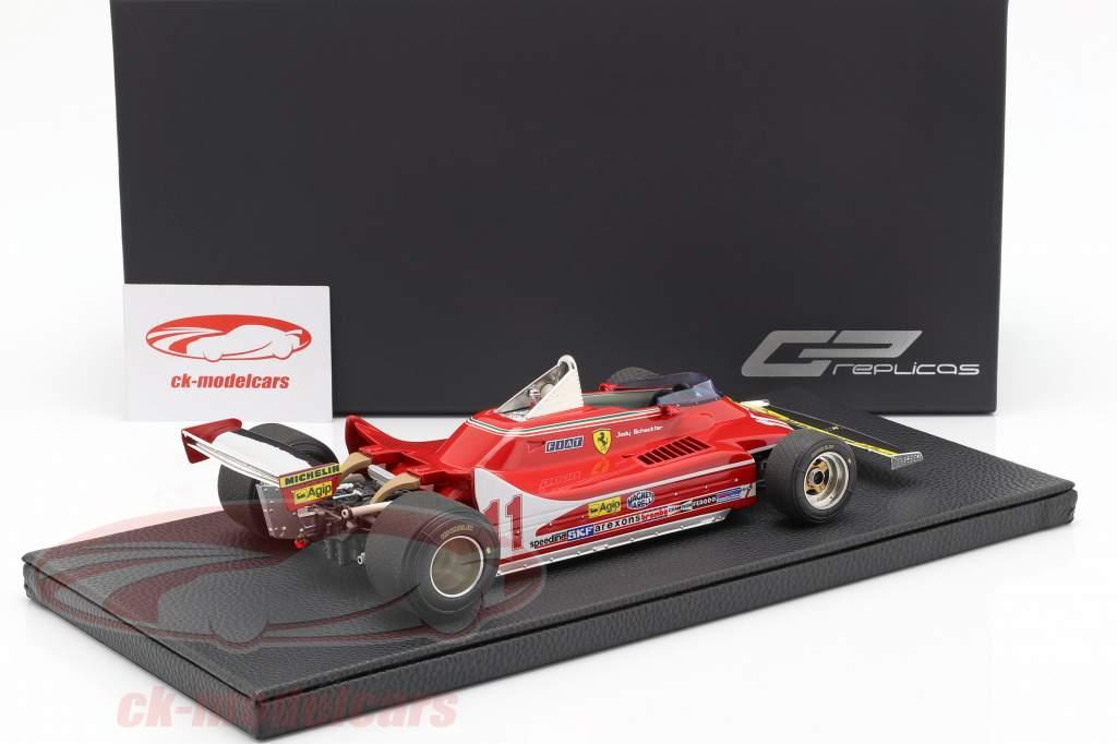 J. Scheckter Ferrari 312T4 #11 italiensk GP verdensmester F1 1979 1:18 GP Replicas