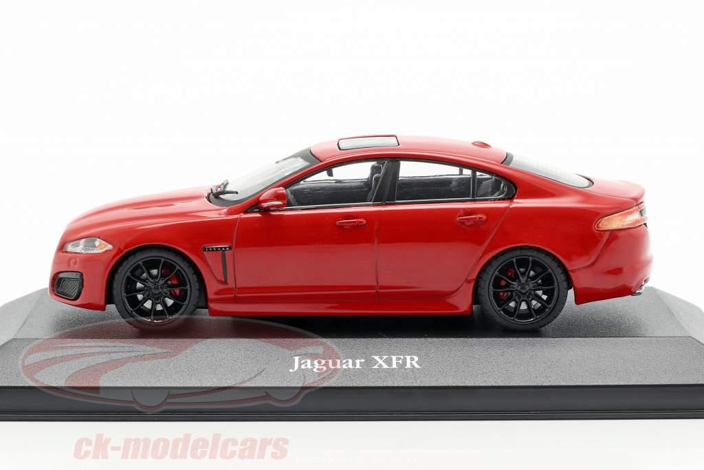 Jaguar XFR Construction year 2012 red 1:43 Atlas