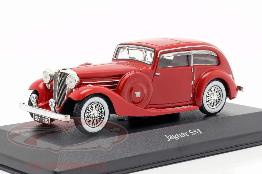 Jaguar SS1 Airline year 1935 red 1:43 Atlas