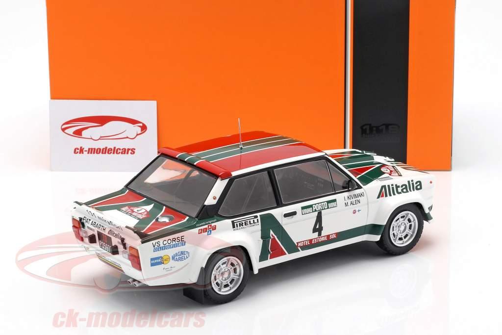Fiat 131 Abarth #4 winnaar Rallye Portugal 1978 Alen, Kivimäki 1:18 Ixo