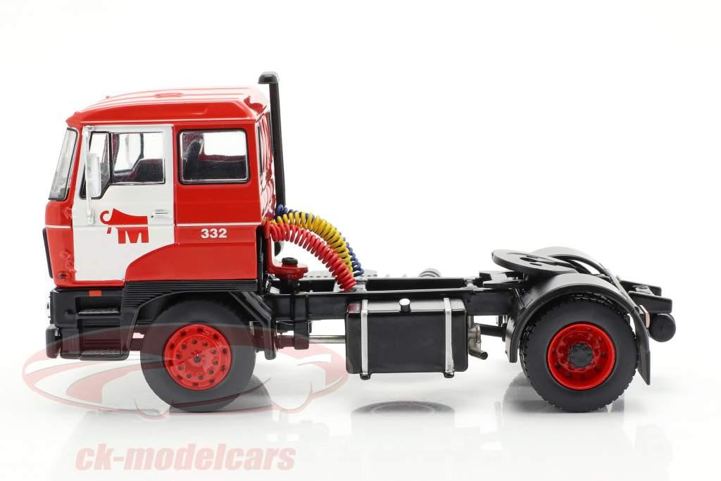 DAF 2800 Low-boy Trailer Mammoet año de construcción 1978 rojo 1:43 Ixo