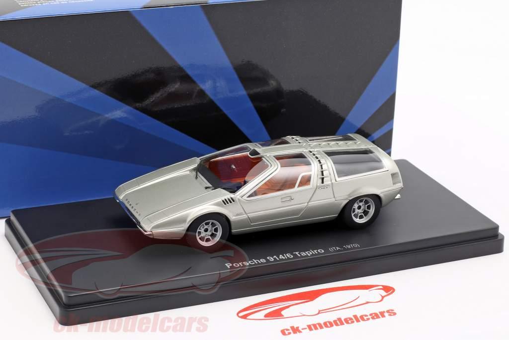 Porsche 914/6 Tapiro año de construcción 1970 plata 1:43 AutoCult