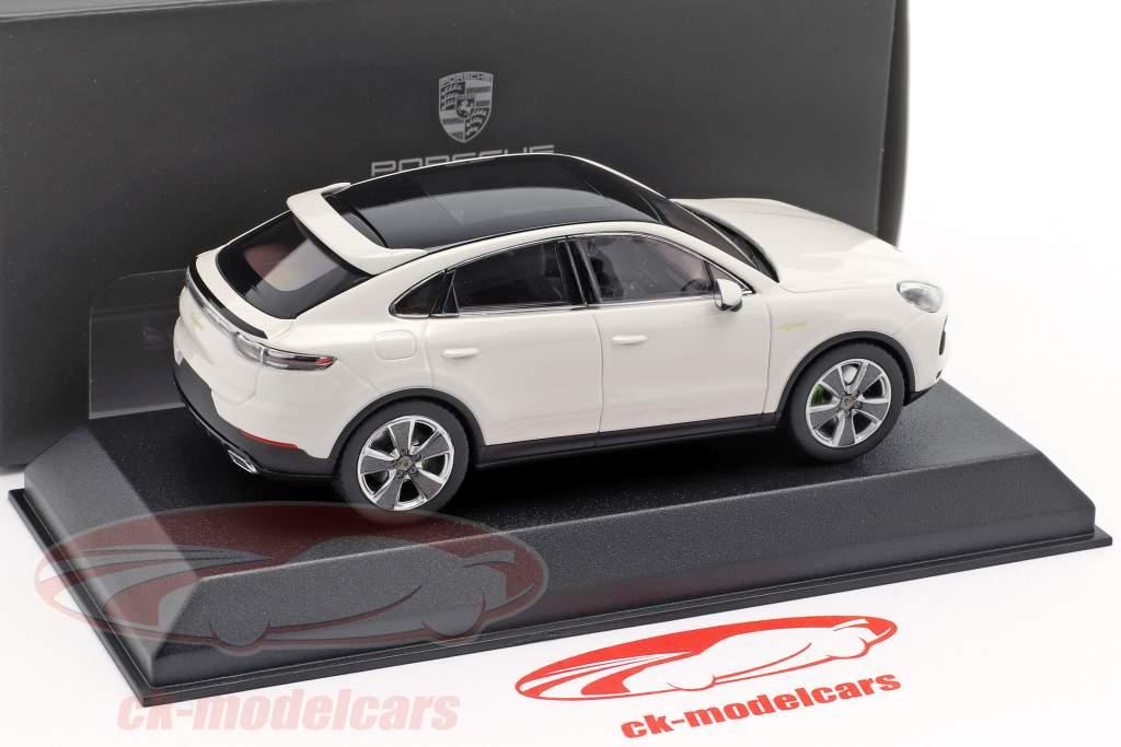 Porsche Cayenne e-hybrid Coupe Opførselsår 2019 hvid 1:43 Norev