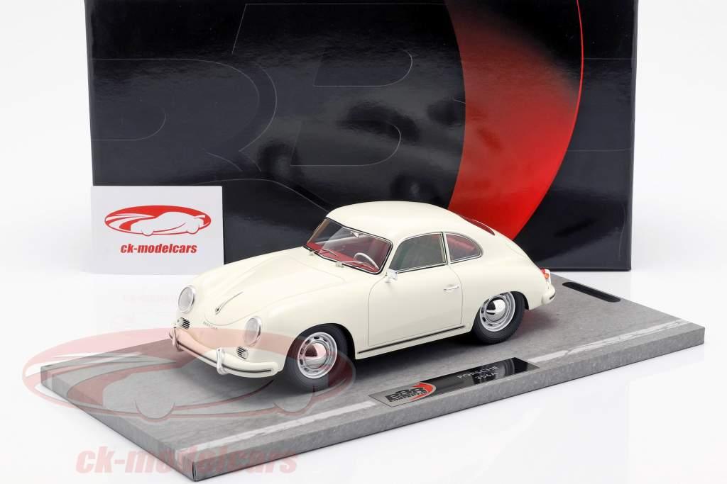 Porsche 356A Bouwjaar 1955 wit 1:18 BBR