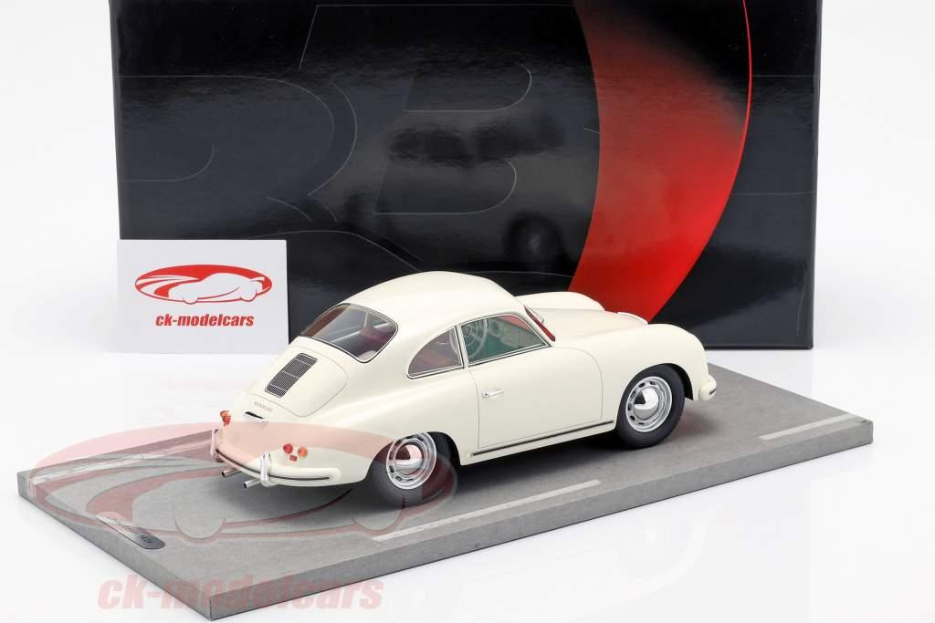 Porsche 356A año de construcción 1955 blanco 1:18 BBR